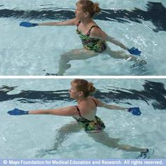 Aquatic exercise how to's