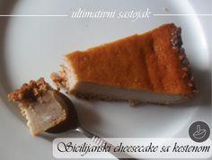 Ultimativni sastojak: Sicilijanski cheesecake sa kestenom (20 cm)