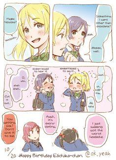 Eli x Nozomi