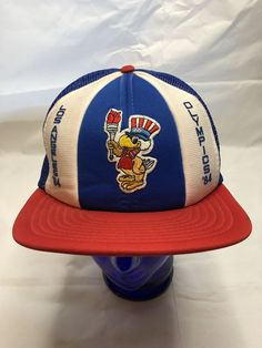 6705f026 Pioneer Chicken Take Out Trucker Hat Vintage Retro Snapback Los Angeles Cap