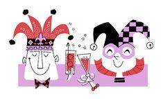 )Anniversary card idea?) Derek Yaniger Art - Illustration
