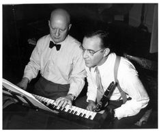 Paul Hindemith and Benny Goodman