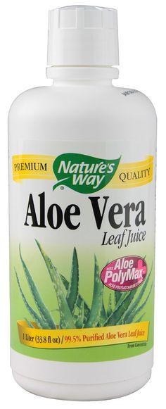 Nature's Way Organic Aloe Vera Whole Leaf Juice