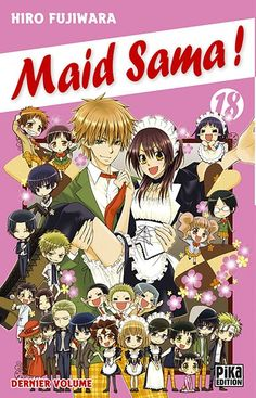 Couverture Maid Sama !, tome 18