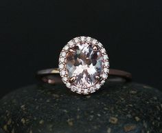 Hey, I found this really awesome Etsy listing at https://www.etsy.com/ca/listing/230918379/mind-blowing-engagement-ring-with-pink