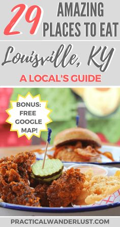 A local's foodie guide to Louisville Kentucky USA! The best brunch lunch dinner dessert and coffee in Louisville Kentucky. Plus famous Kentucky foods and the best places to eat in Louisville. Don't skip Louisville as part of your USA travel plans! Kentucky Food, Louisville Kentucky, Kentucky Derby, Louisville Restaurants, Louisville Slugger, Brunch, Best Places To Eat, Amazing Places, All I Ever Wanted