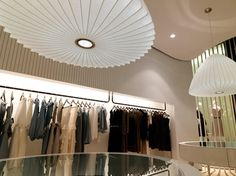 Retail store lighting design retail store lighting idea amazing color scheme home decor ideas website . Boutique Interior Design, Interior Design Awards, Interior Ideas, High End Lighting, Australian Interior Design, Claire Danes, Shop Front Design, Decoration Design, Shop Window Displays
