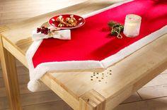"""Tischl�ufer """"Santa"""" rot/wei� - bpc living jetzt im Online Shop von bonprix.de ab ? 9,99 bestellen. Stimmungsvoller Tischl�ufer im Santa-Design. Ein echter ..."""