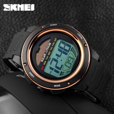 2015 Men s Solar Digital Watch Men Sports Watches Relogio Masculino Relojes Reloj SKMEI Brand Military. Click visit to buy Cheap Watches For Men, Simple Watches, Solar Power Energy, Solar Watch, Vogue Men, Mens Sport Watches, Rose Gold Watches, Men's Watches, G Shock