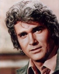 Michael Landon: I grew up with Little House of the Prairie...what a great Dad figure he was! Also loved Highway to Heaven.