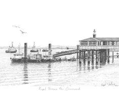 Royal Terrace Pier Gravesend, River Thames