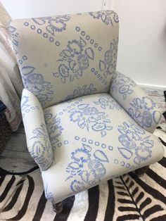 Wingback Chair, Armchair, Accent Chairs, Furniture, Home Decor, Printing, Womb Chair, Homemade Home Decor, Wingback Chairs