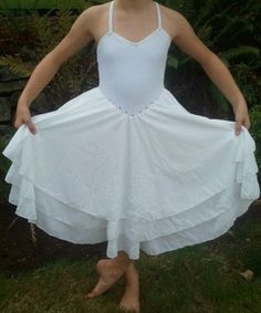 I want to take a white lyrical dress and splatter paint on it!