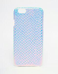 Image 1 ofASOS Holographic Snake iPhone 6 Case