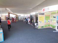 Pabellón Stands de Exhibición - toma panorámica.