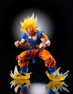 Dragon Ball Super Saiyan Son Goku Ver.2 Action Figure #toys