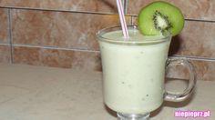 Koktajl jabłko-banan-kiwi