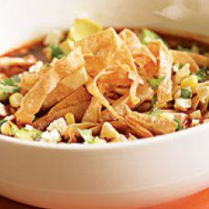 Crockpot Chicken Taco Soup  #crockpot #chicken