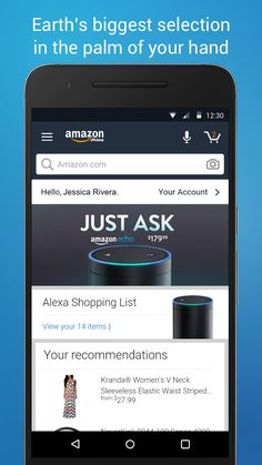 Amazon Shopping- screenshot Amazon Shopping App, Amazon Orders, Microphone Icon, Restaurant Delivery, Amazon Gifts, Low Lights, The Flash, Microsoft