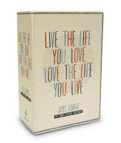Live the Life You Love Postcard Box 100 HAND-LETTERED POSTCARDS Written by Scott AlbrechtAuthor Alerts:  Random House will alert you to new works by Scott Albrecht
