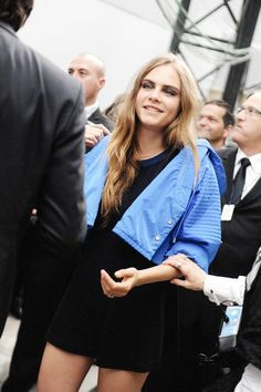 Chanel SS16 show Cara Delevingne