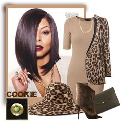 EMPIRE - COOKIE by arjanadesign on Polyvore featuring moda, Roberto Cavalli, Giuseppe Zanotti, Danielle Nicole, Charlotte Russe, Philip Treacy and empire
