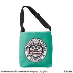 Northwest Pacific coast Haida Weeping skull BC Tote Bag
