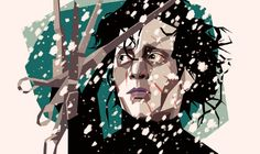 ilustración poligonal manos de tijera Impresionantes ilustraciones poligonales por Liam Brazier