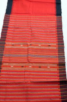In Style-m: bright crimson Kotpad saree of Orissa