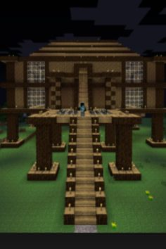 Mine craft house Minecraft Seed, Cool Minecraft Houses, Minecraft Blueprints, How To Play Minecraft, Minecraft Buildings, Minecraft Stuff, Minecraft City, Minecraft Creations, Minecraft Projects