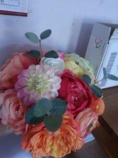 Making my bouquet