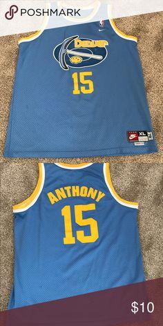 new concept 37094 eef0c nba jerseys denver nuggets 15 carmelo anthony blue jerseys