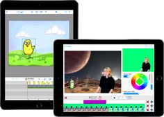 DoInk provides Creation Apps (Green Screen, Animation and Drawing) for  learning & expression on the iPad and iPhone.