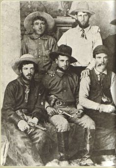 Here are some working cowboys from the 1870s