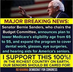 Call To Action, Hearing Aids, Bernie Sanders, Dental, Budgeting, Politics, How To Plan, Instagram, Budget Organization