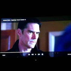 It is moments like this that I realise. No matter how hard you try you can not pause Hotch with any form of derp face. Literally NEVER   #criminalminds #noderpfacehere #triedandfailed #hotchnernoderp