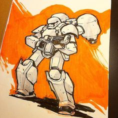 First Order Heavy Trooper. #firstorder #stormtrooper by jakeparker