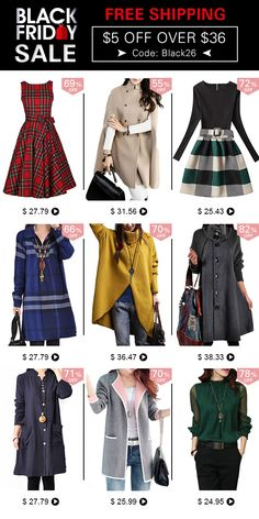 Fashion Women Clothing For Black Friday Sale, Up to 60% Off, Free Shipping!