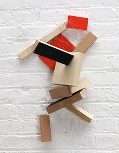 "wood, wire and casein, 23-1/4"" x 14"" x 9-3/4"" (59.1 cm x 35.6 cm x 24.8 cm), © 2005 Joel Shapiro / Artists Rights Society (ARS), New York"