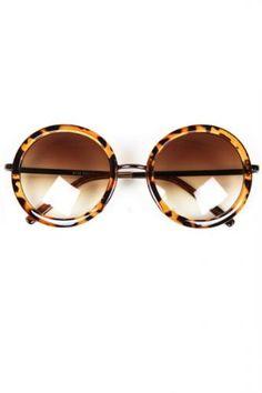 Fashion Leopard Print Sunglasses