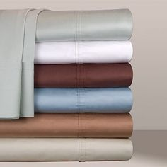 500 thread count Egyptian Cotton Sheets.  Any higher number is actually too sfot for me.  These feel crisp and cool. Kohl's