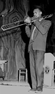 Rare photo of legendary DON DRUMMOND performing in 1962 with the Coxsone's Jazz Jamaica All-Stars, one year before the creation of The Skatalites © The Gleaner Co. Ltd