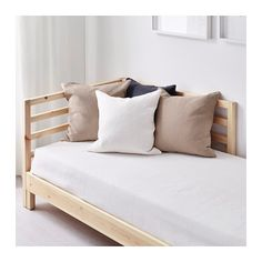 ikea tarva daybed with 2 mattresses two functions in one chaise longue by