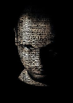 How to create a stunning Typographic Portrait | psdstation.com