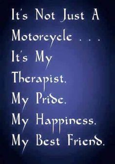 My motorcycle is...