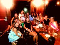 Bachelorette dinner!