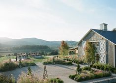 VIRGINIA: PIPPIN HILL  And you thought finding an East Coast winery wasn't an option. This best part? Besides the sweeping mountain views, all brides get a 10 percent discount on the wine.