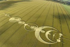 crop circles | crop circle vs nazca lines | colours mean everything