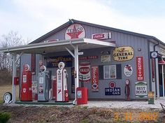 1950's gas station sign - Google Search