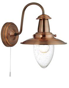5331-1CO Copper Fisherman Wall Lantern